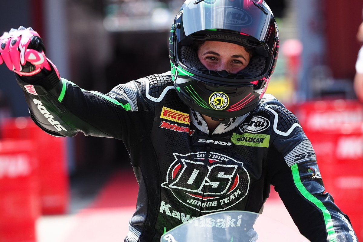 Hasil Race WSSP300 Doninton Park UK Ana Carrasco Juara