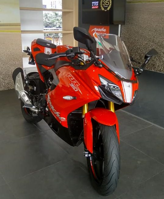 Indent TVS Apache RR310 CBU India