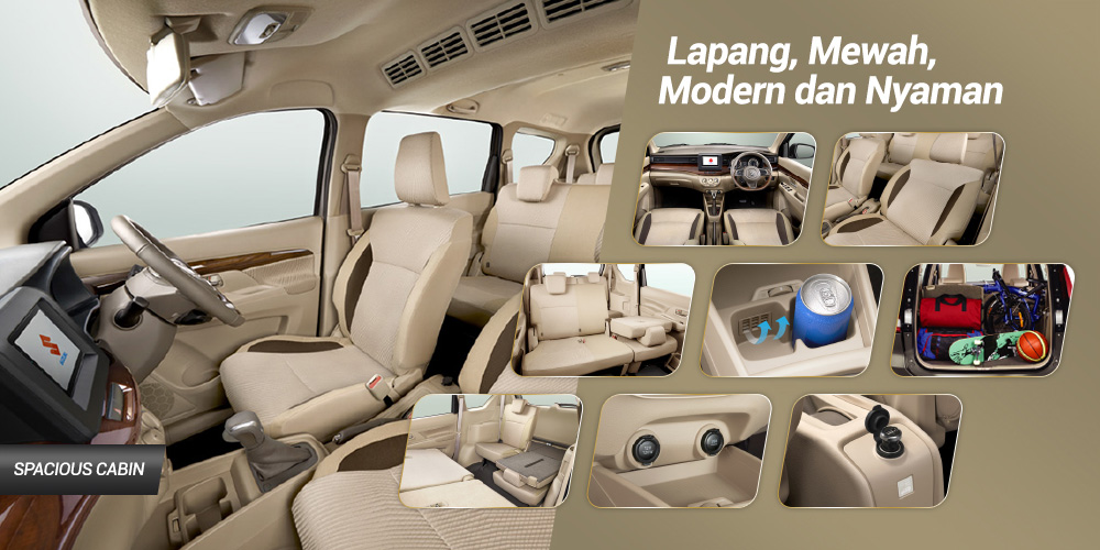 Interior Suzuki All new Ertiga 2018