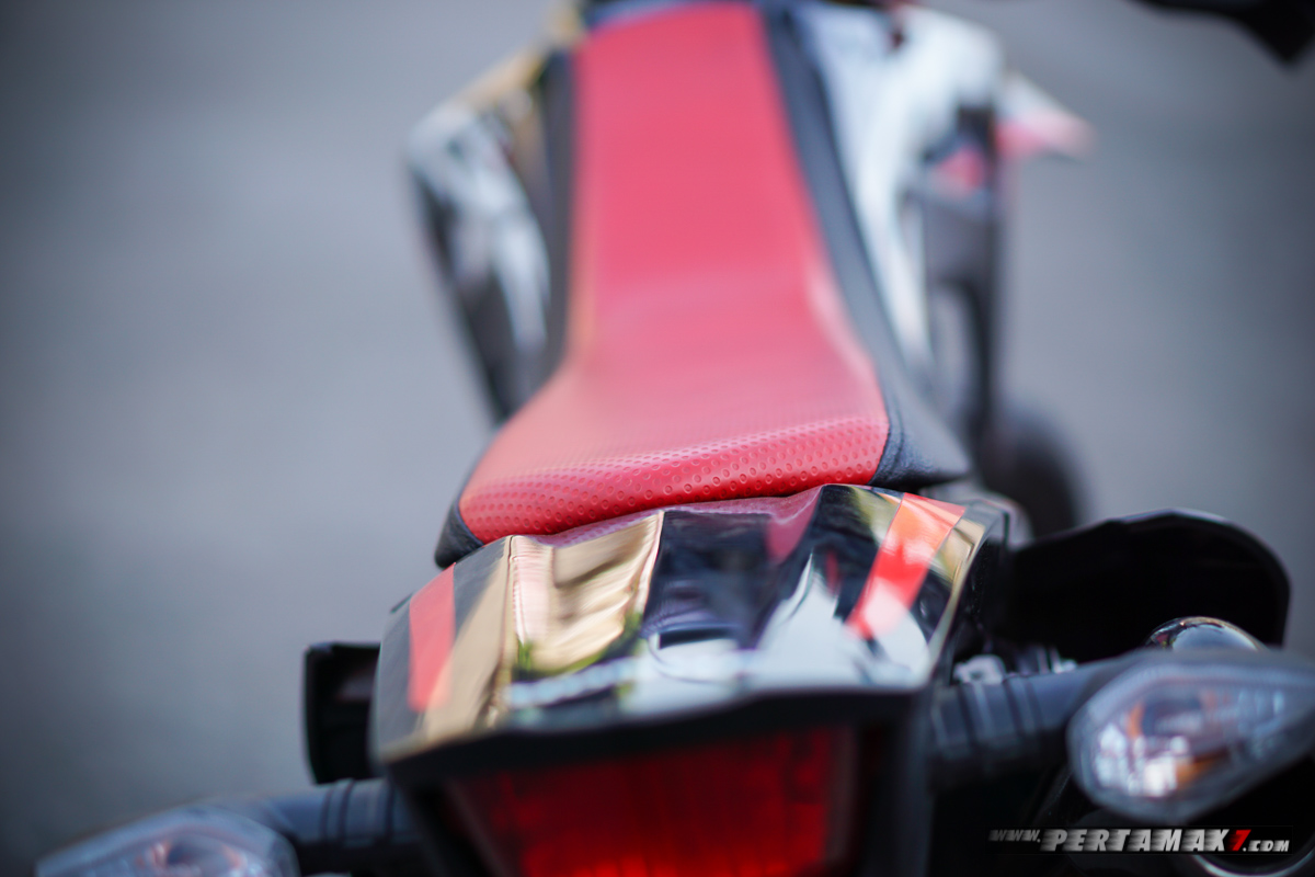 Jok Honda CRF150L Modifikasi Supermoto