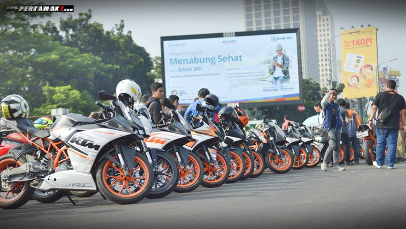 KTM Orange Ride IIMS 2018