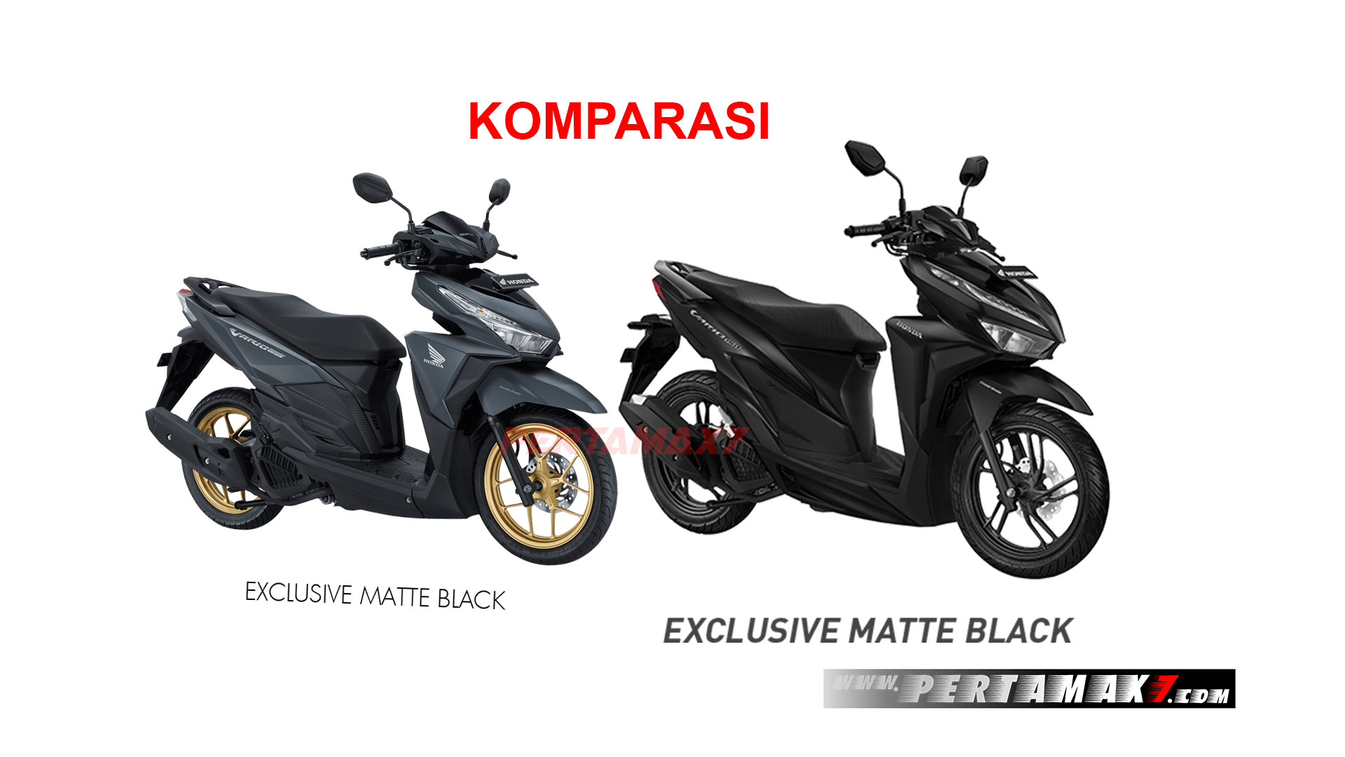 Komparasi Spesifikasi All New Honda Vario 150 eSP VS Old