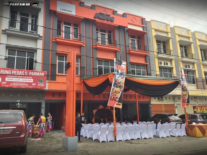 Launching Dealer KTM Lampung 00 P7