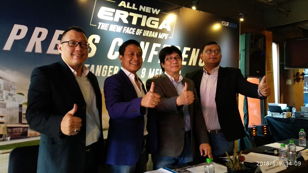 Launching Harga Suzuki All New Ertiga