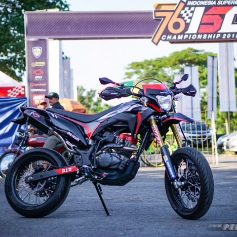 Modifikasi Honda CRF150L Supermoto AHM-80