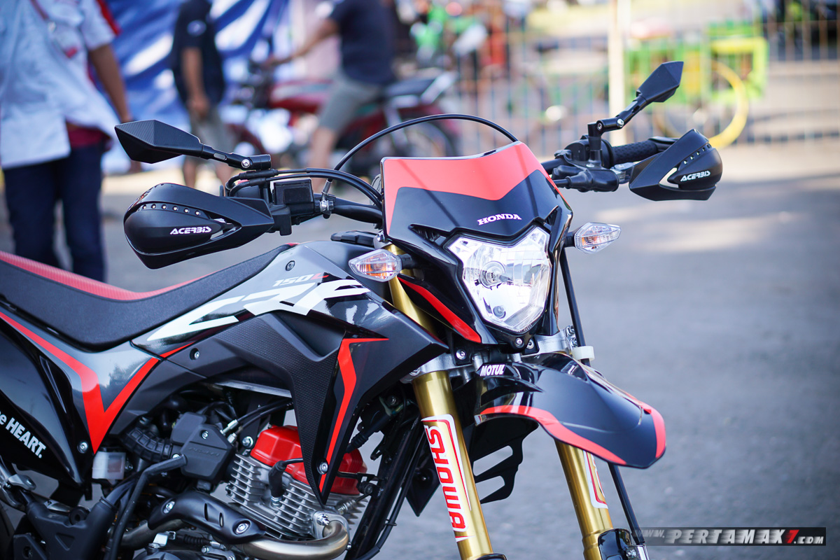 Modifikasi Honda CRF150L Supermoto AHM-85