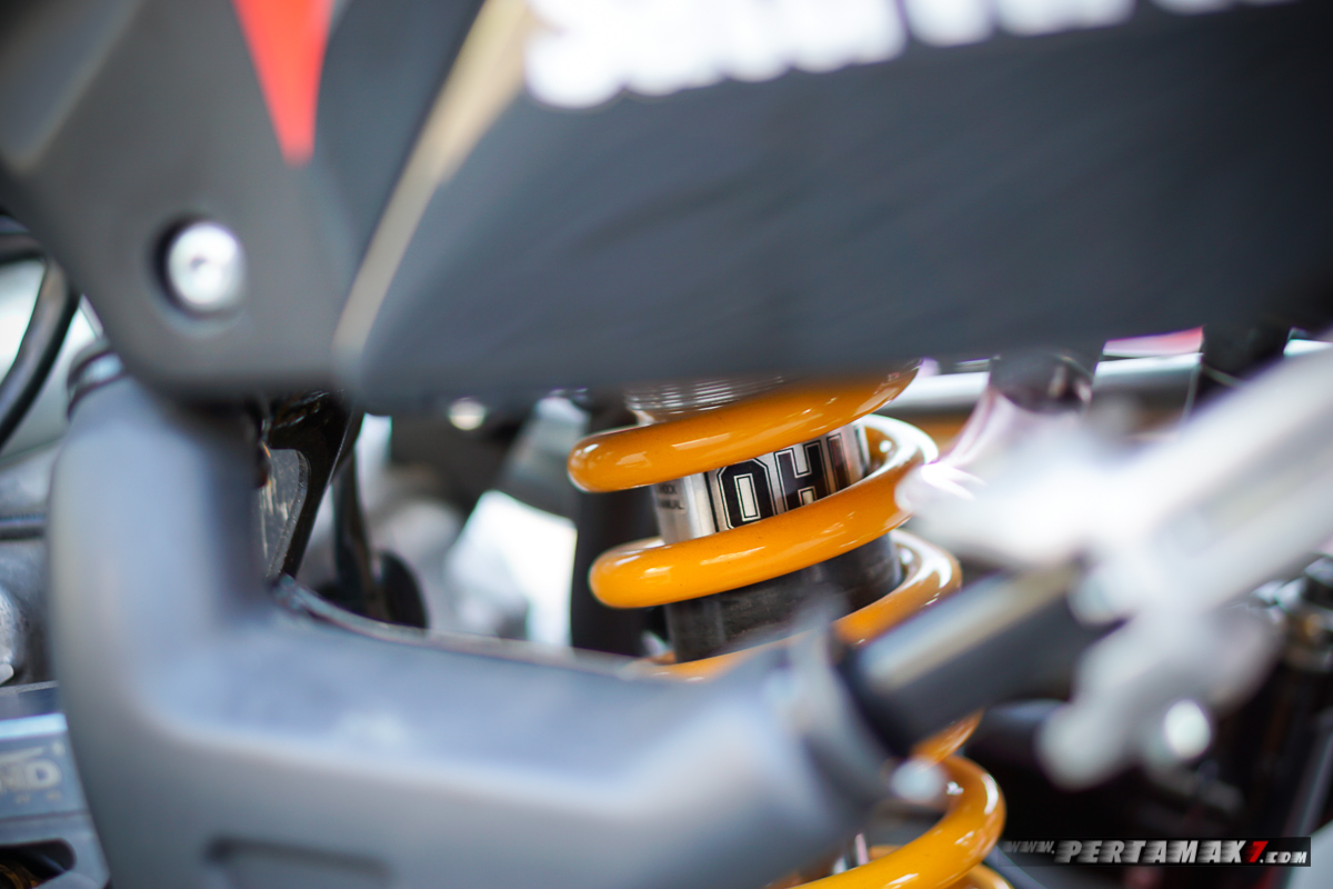 Suspensi OHLINS Honda CRF150L Modifikasi Supermoto