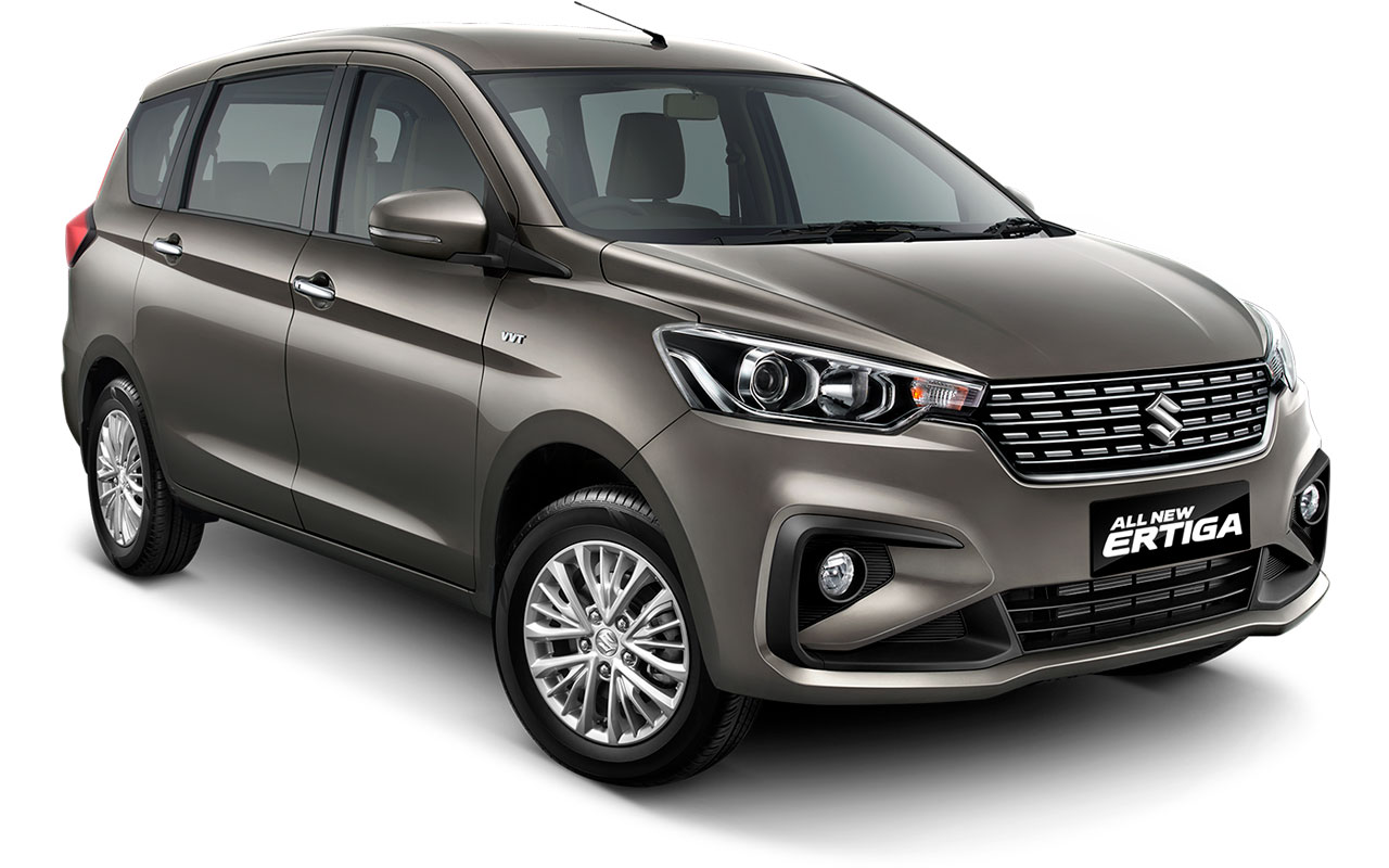 Suzuki All new Ertiga 2018 Warna Abu-abu Metallic Magma Gray
