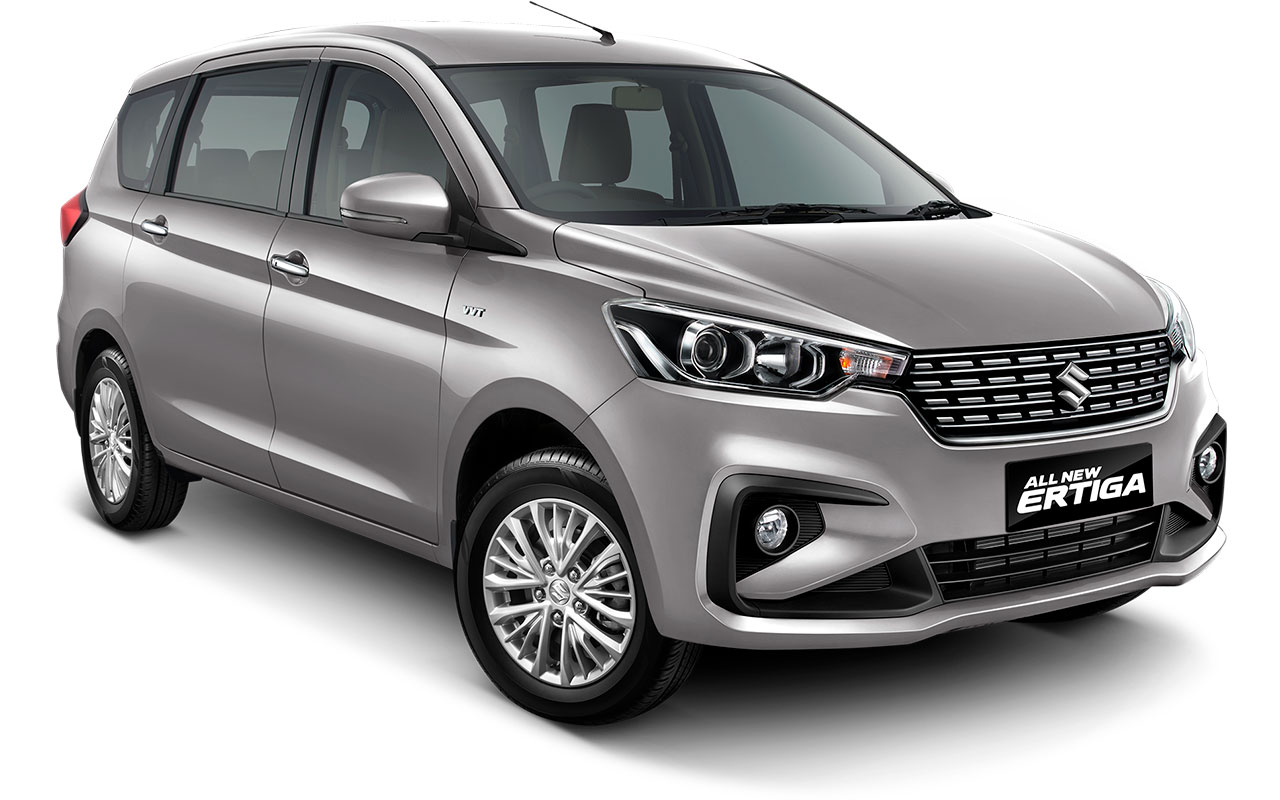 Suzuki All new Ertiga 2018 Warna Silver Metallic Silky Silver