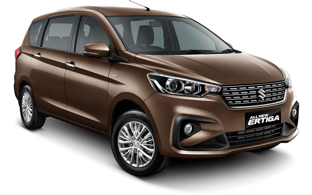 Suzuki All new Ertiga 2018 Warna coklat Pearl Glorious Brown
