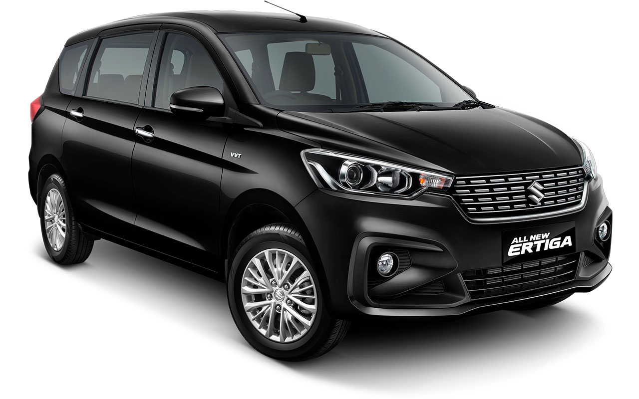 Suzuki All new Ertiga 2018 Warna hitam Prime Cool Black
