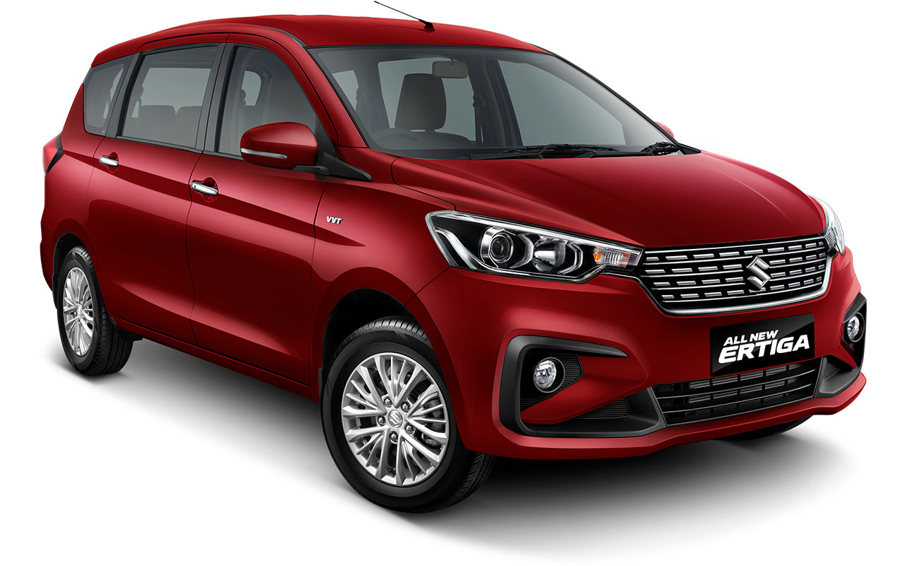 Suzuki All new Ertiga 2018 Warna merah Pearl Radiant Red