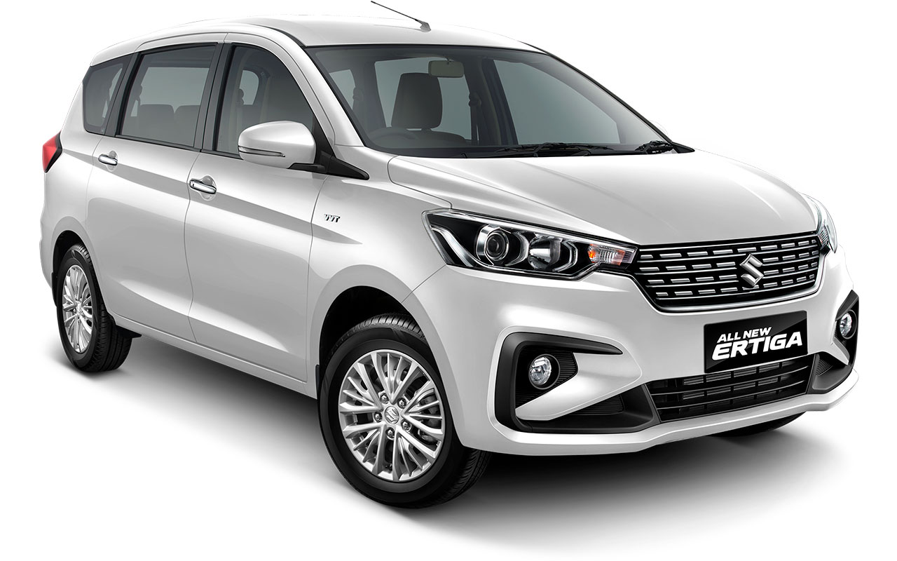 Suzuki All new Ertiga 2018 Warna putih Pearl Snow White