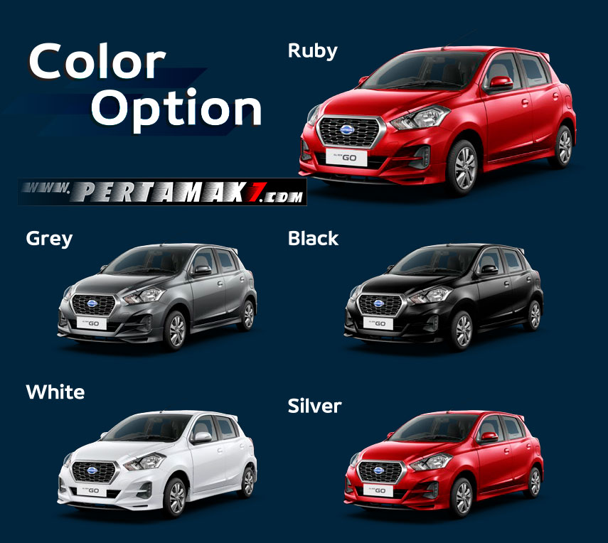 Warna All new Datsun Go 2018