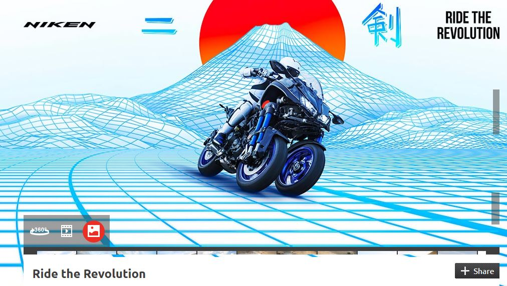 Yamaha Niken Unique Leaning Multi Wheel Technology