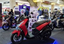 Display Lexi di event Blue Core Yamaha Motor Show (BYMS)