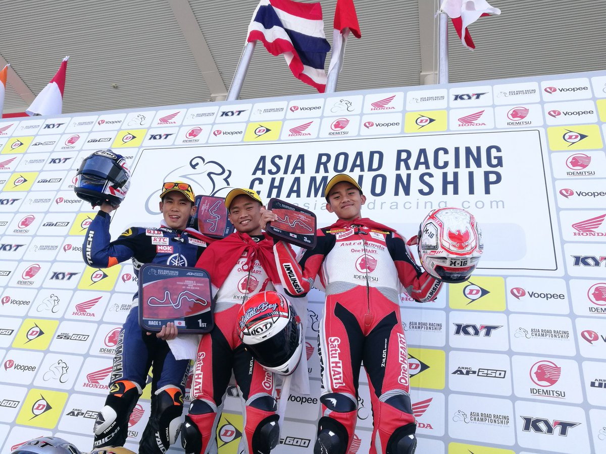 Podium Race 1 AP250 ARRC 2018