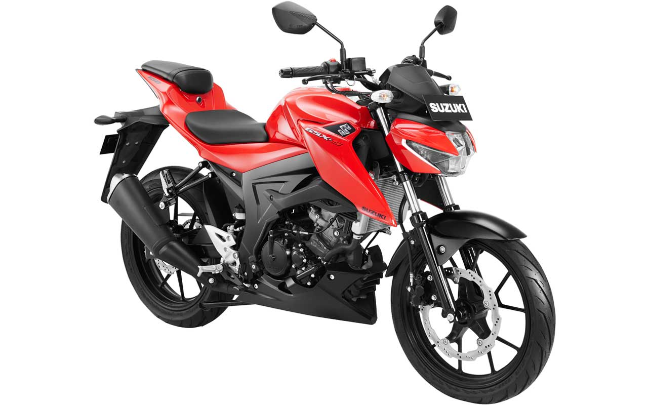 Suzuki GSX-S150 Warna Merah STRONGER RED