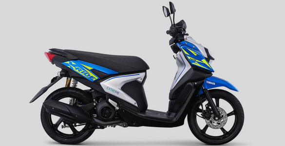 Warna Baru Yamaha All New X-Ride 125 versi 2018 biru