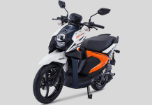 Warna Baru Yamaha All New X-Ride 125 versi 2018 putih