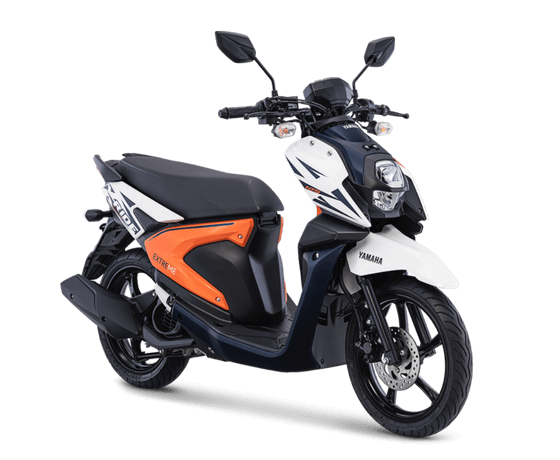 Yamaha All New X-Ride 125 versi 2018 Warna Putih Freedom White