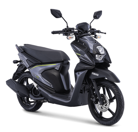 Yamaha All New X-Ride 125 versi 2018 Warna hitam exclusive black
