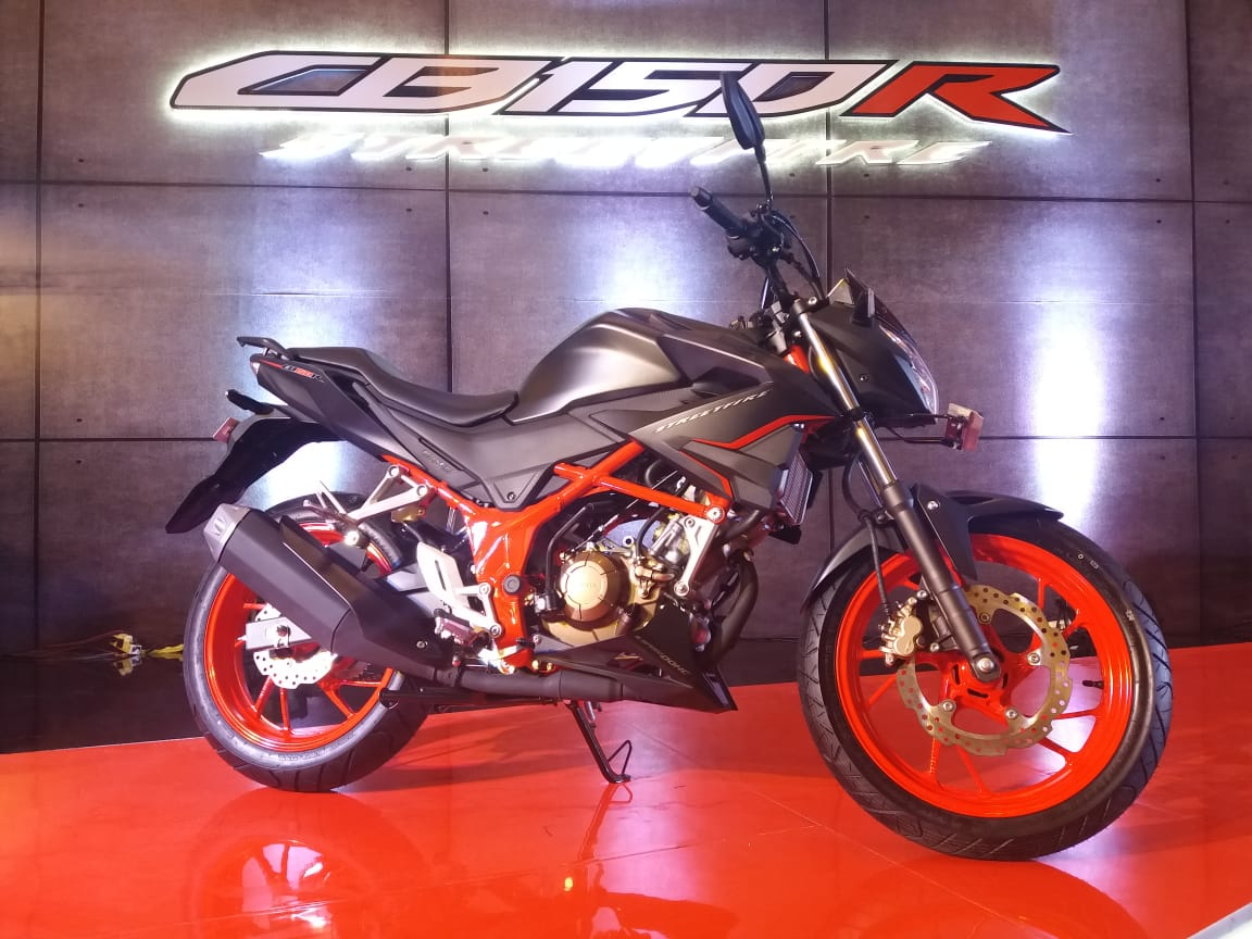 All New Honda CB150R makin Segar Gagah Mewah