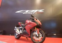 All New Honda CBR250RR Warna Merah Dofgf Bravery Mat Red