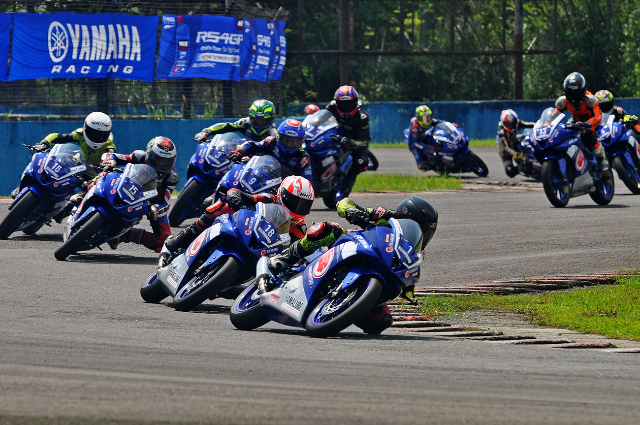 All New R15 Junior Pro menjadi daya tarik di YSR 2018