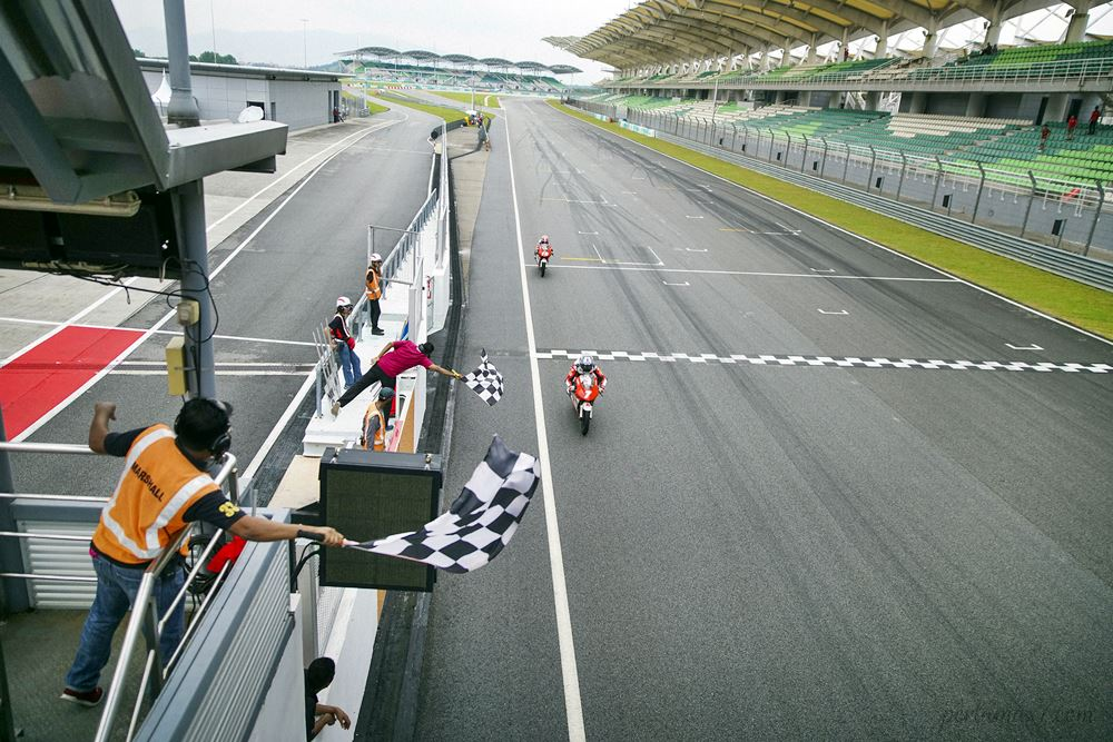 Balap Asia Talent Cup Sepang Race 1