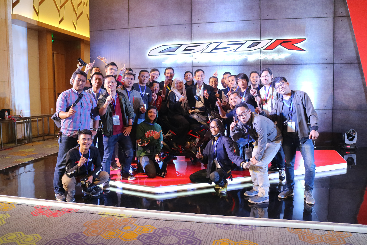 Blogger Vlogger Launching All New Honda CB150R makin Segar Gagah Mewah