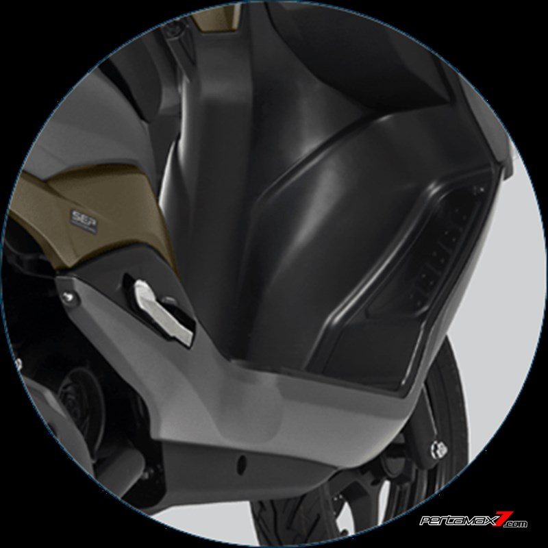 Flexible Foot Position Suzuki Burgman Street P7