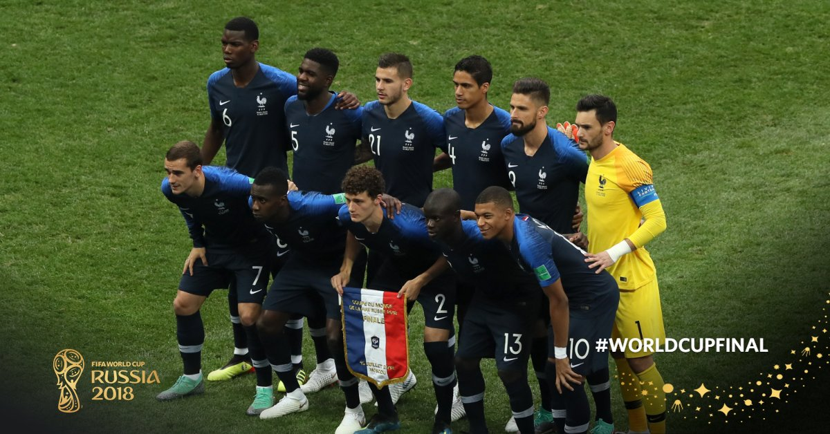 France Fifa World Cup 2018