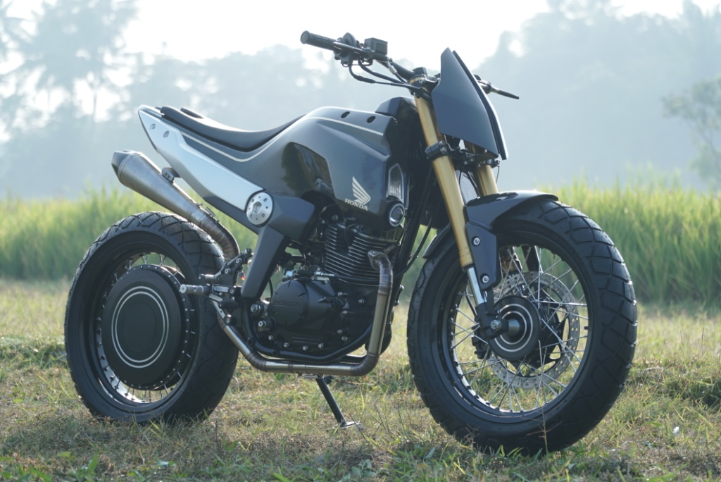 Honda CRF150L Scrambler Fighter