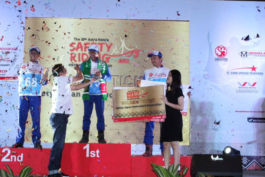 Juara Astra Honda Safety Riding Instructors Competition 2018 2 P7