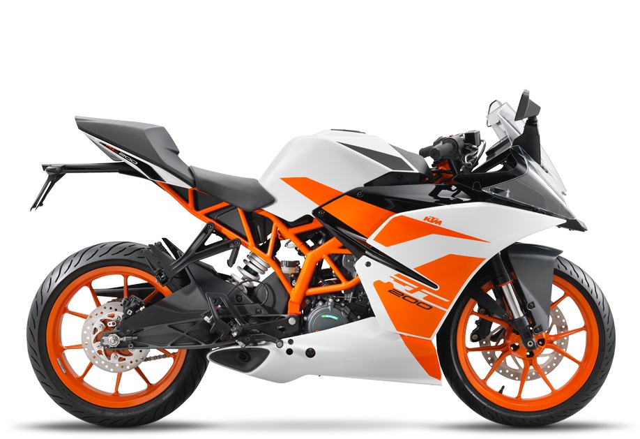 Launching KTM New RC200