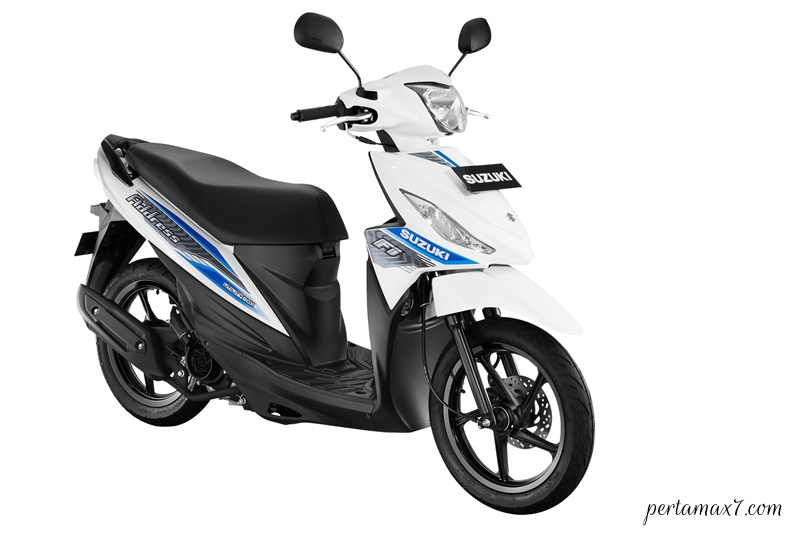 Make Up Suzuki Address FI Warna Baru BRILIANT WHITE p7