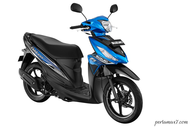 Make Up Suzuki Address FI Warna Baru MET. TRITON BLUE-TITAN BLACK p7