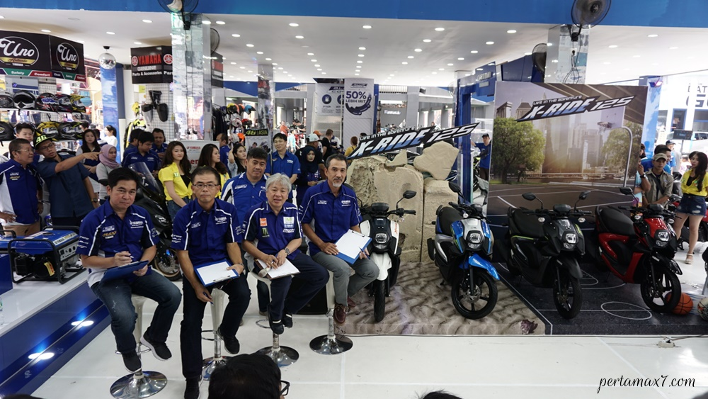 Management PT YIMM launching All New X-Ride 125 terbaru yang Stylish