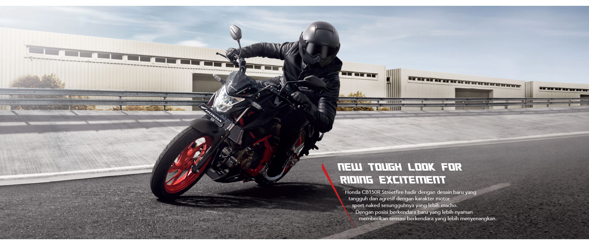 New tough look Honda CB150R Streetfire Refrech