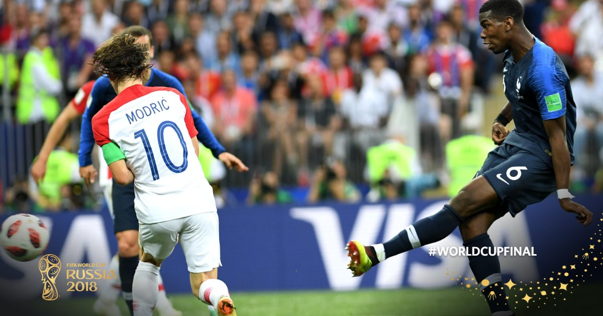 Pogba france Fifa World Cup 2018