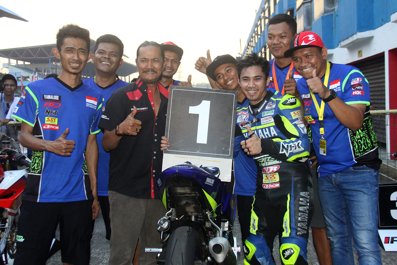 Richard Taroreh Raih Podium Juara Kejurnas Sport 250 cc, Juga Catat Best-Time