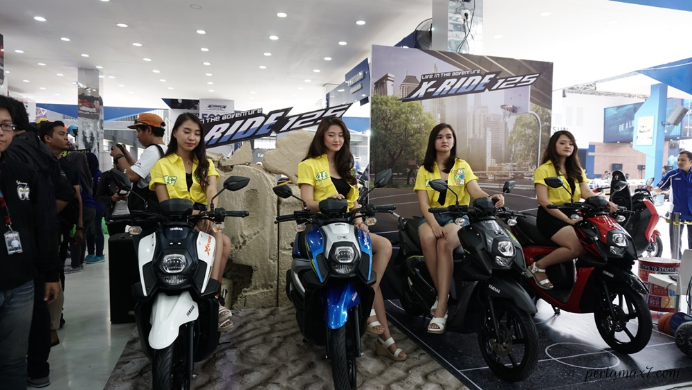 SPG Yamaha All new X-ride 125 Makin Stylish