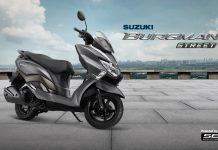 Suzuki Burgman Street 125 India The Special One