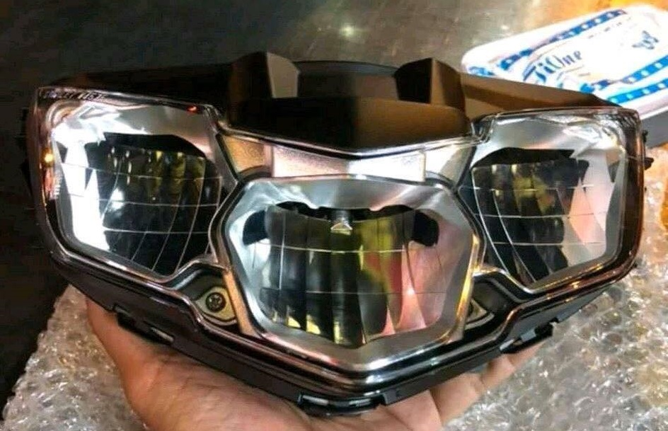 headlamp led yamaha jupiter mx king facelift 2018 exciter vietnam