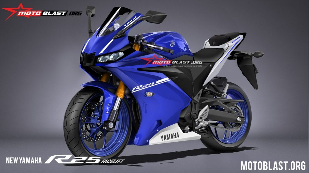 Gambaran Desain Yamaha All New R25 LED