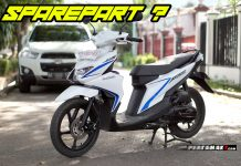 Harga Spare Part Fast Moving Suzuki Nex II