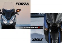 Headlamp Honda Forza 250 VS Yamaha XMAX 250