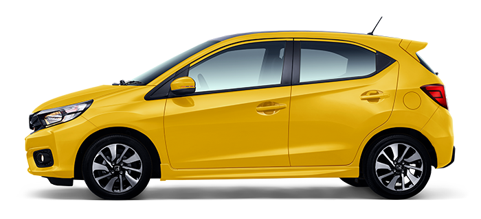 Honda New Brio Warna Kuning