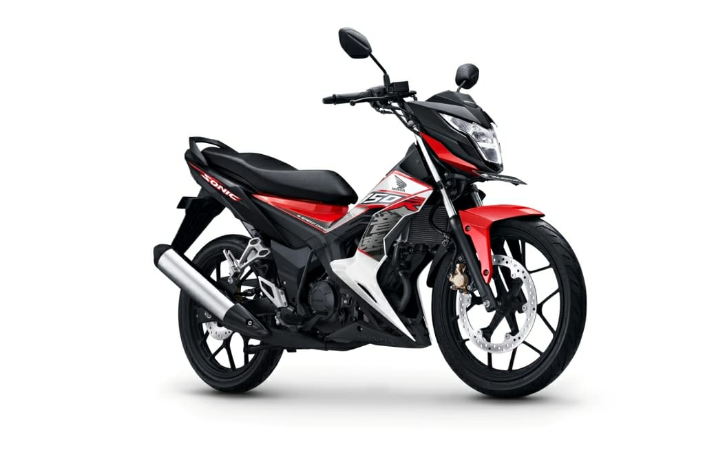 Honda Sonic 150R Versi 2018 Energetic Red